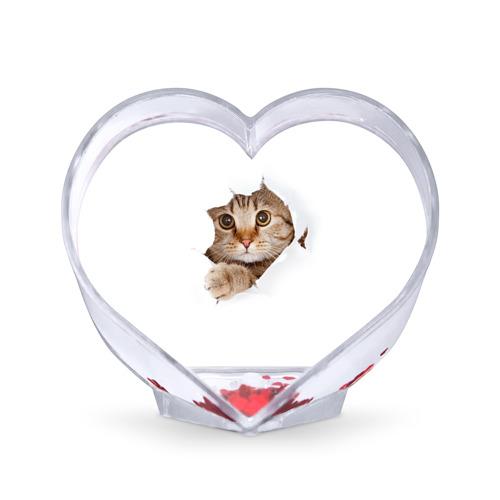 Сувенир Сердце  Фото 01, Котик