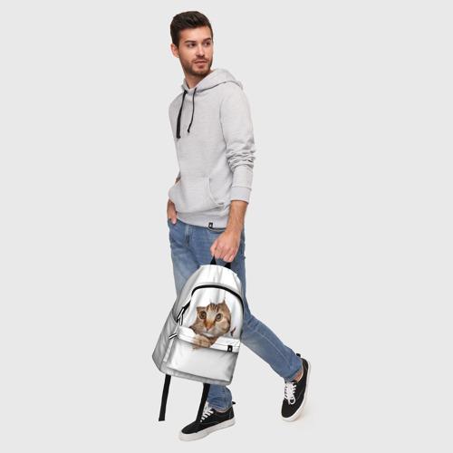 Рюкзак 3D Котик Фото 01