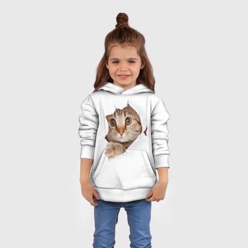 Детская толстовка 3D Котик