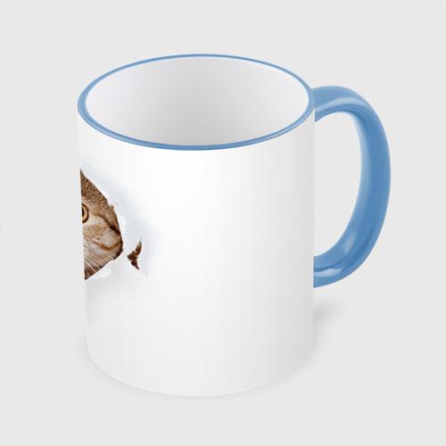 Кружка с полной запечаткой Котик