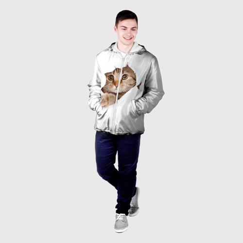 Мужская куртка 3D  Фото 03, Котик