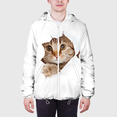 Мужская куртка 3D  Фото 04, Котик