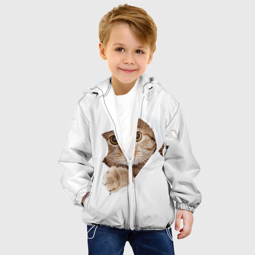 Детская куртка 3D  Фото 03, Котик