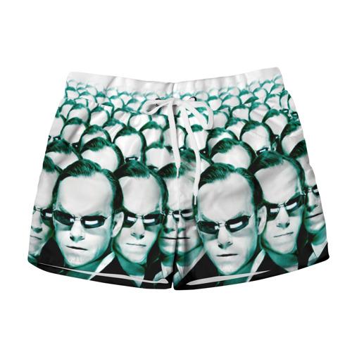 Женские шорты 3D Агент