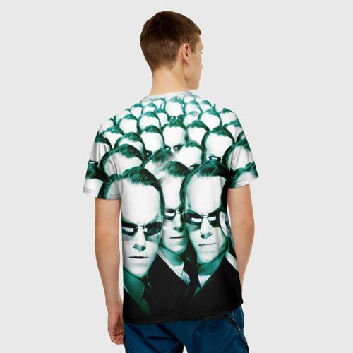 Мужская футболка 3D  Фото 02, Агент