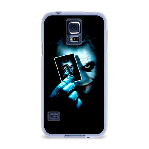 Чехол для Samsung Galaxy S5 силиконовый  Фото 01, Джокер