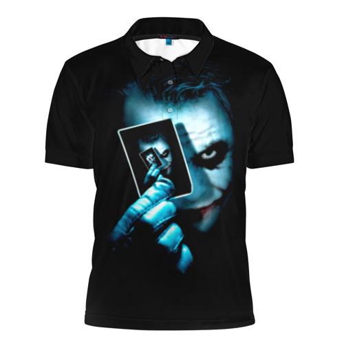 Мужская рубашка поло 3D Джокер
