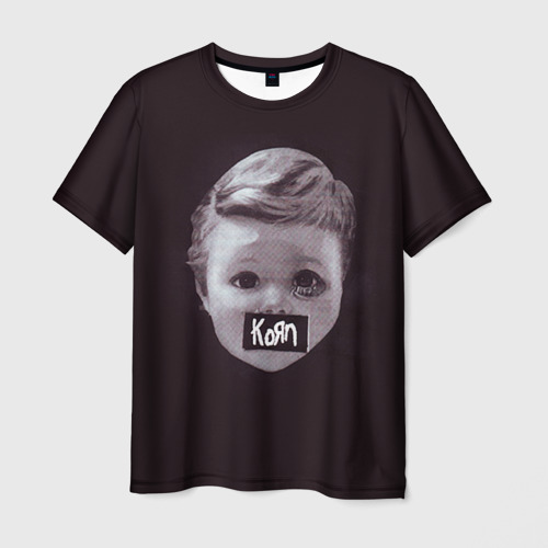 Мужская футболка 3D KoЯn