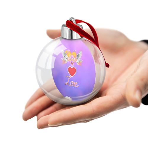 Ёлочный шар  Фото 02, Love