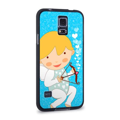 Чехол для Samsung Galaxy S5 силиконовый Ангел мальчик Фото 01