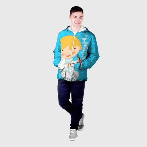 Мужская куртка 3D Ангел мальчик Фото 01