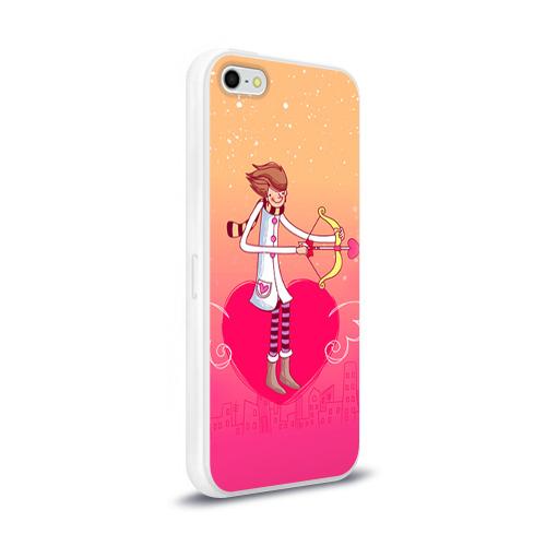 Чехол для Apple iPhone 5/5S силиконовый глянцевый  Фото 02, Влюбленные