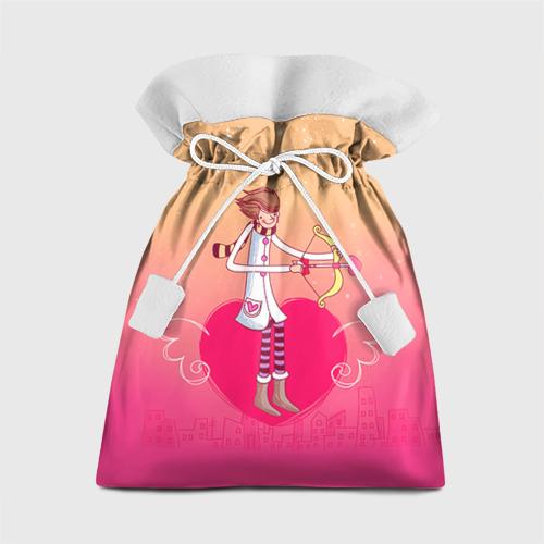 Подарочный 3D мешок Влюбленные