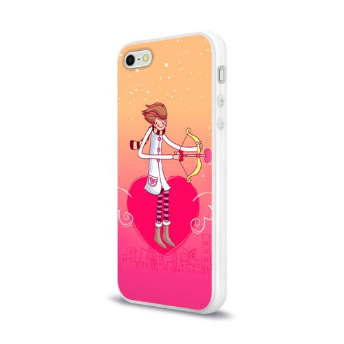Чехол для Apple iPhone 5/5S силиконовый глянцевый  Фото 03, Влюбленные