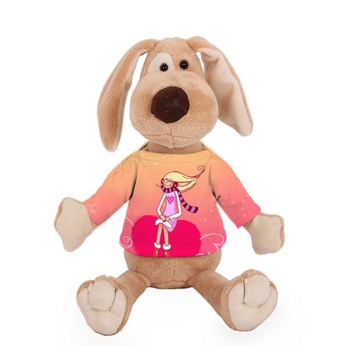 Собачка в футболке  Фото 01, Влюбленные