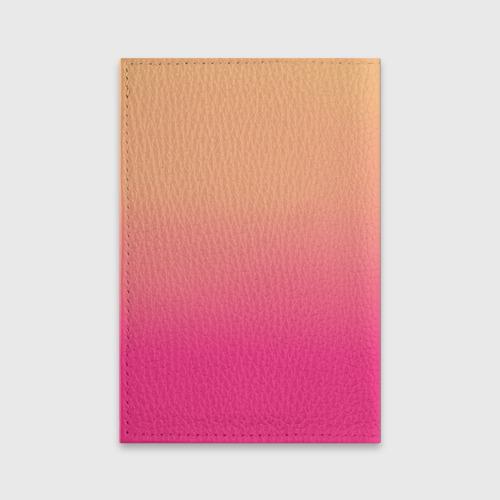 Обложка для паспорта матовая кожа  Фото 02, Влюбленные