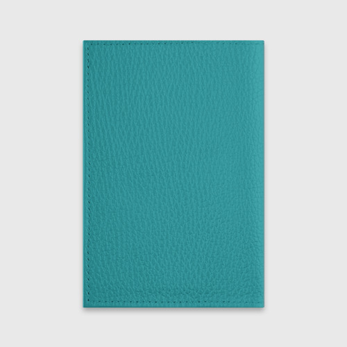 Обложка для паспорта матовая кожа  Фото 02, Пингвинчик