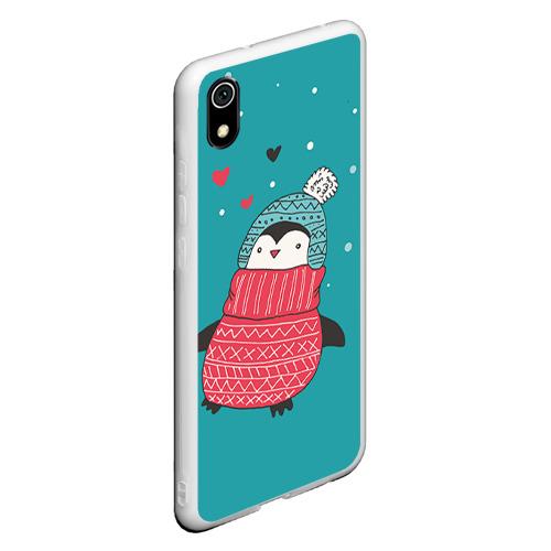 Чехол для Xiaomi Redmi Mi 7A Пингвинчик Фото 01