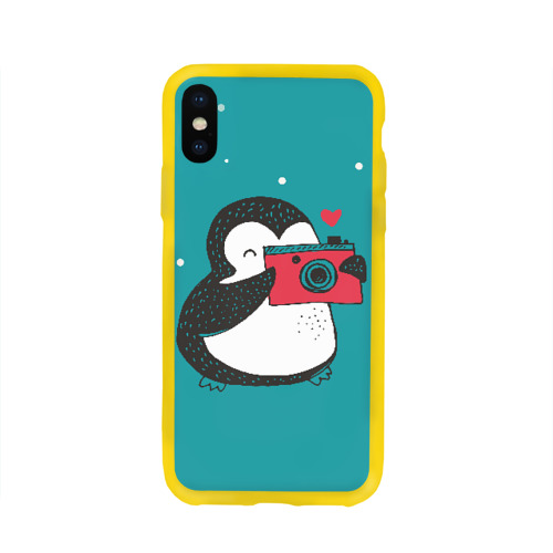 Пингвин с фотоаппаратом