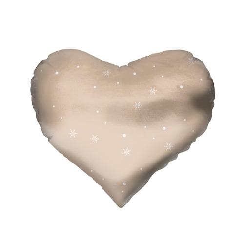 Подушка 3D сердце  Фото 02, Пингвин с подарком