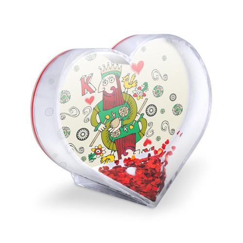 Сувенир Сердце  Фото 03, Червовый король