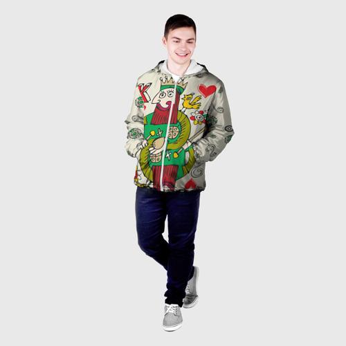 Мужская куртка 3D  Фото 03, Червовый король