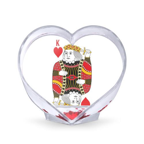 Сувенир Сердце  Фото 01, Король