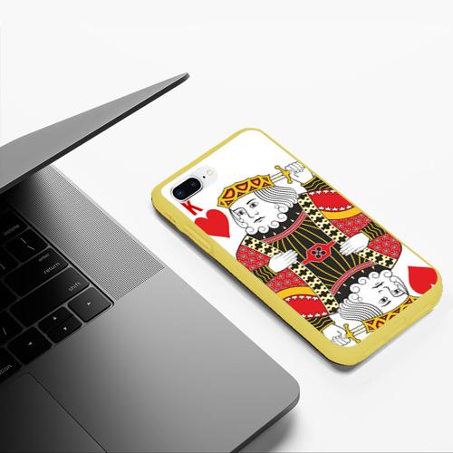 Чехол для iPhone 7Plus/8 Plus матовый Король Фото 01