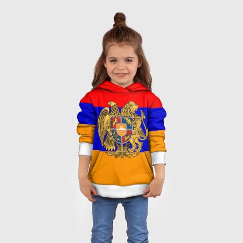 Детская толстовка 3D  Фото 01, Герб и флаг Армении