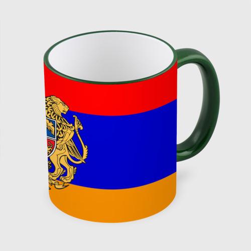 Кружка с полной запечаткой  Фото 01, Герб и флаг Армении