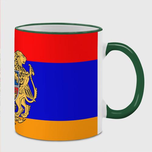 Кружка с полной запечаткой  Фото 02, Герб и флаг Армении