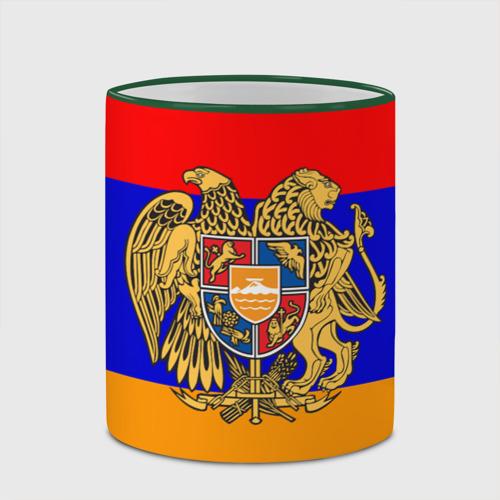 Кружка с полной запечаткой  Фото 03, Герб и флаг Армении