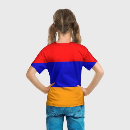 Детская футболка 3D  Фото 04, Герб и флаг Армении