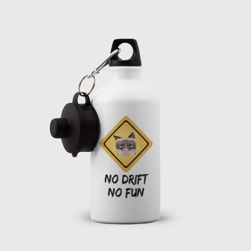 Бутылка спортивная  Фото 03, No Drift No Fun