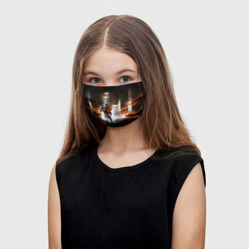 Детская маска (+5 фильтров) Battlefield One фото
