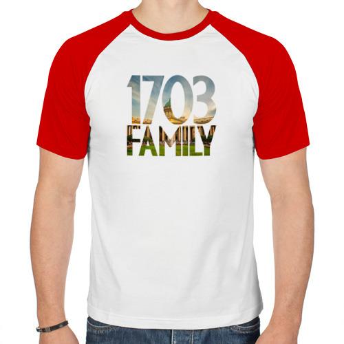 Мужская футболка реглан  Фото 01, 1703 family