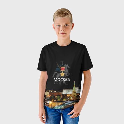 Детская футболка 3D Город-герой Москва