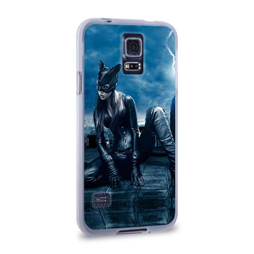 Чехол для Samsung Galaxy S5 силиконовый  Фото 02, Кошка