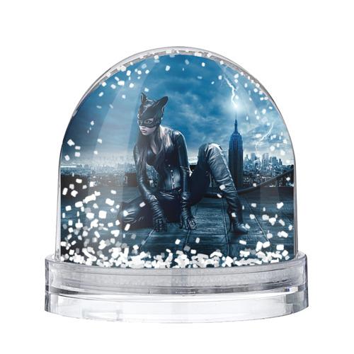 Водяной шар со снегом Кошка