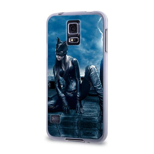Чехол для Samsung Galaxy S5 силиконовый  Фото 03, Кошка