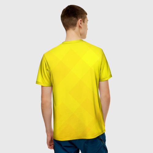 Мужская футболка 3D Цветочек Фото 01