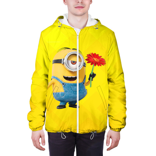 Мужская куртка 3D  Фото 04, Цветочек