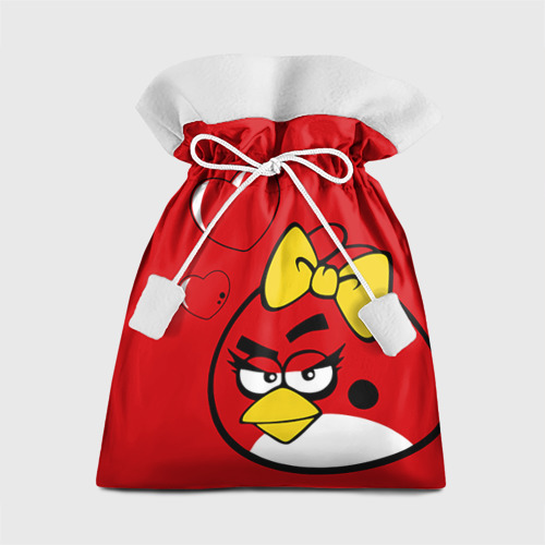 Подарочный 3D мешок Птичка