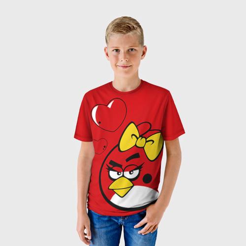 Детская футболка 3D Птичка