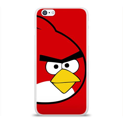Чехол для Apple iPhone 6Plus/6SPlus силиконовый глянцевый  Фото 01, Птичка