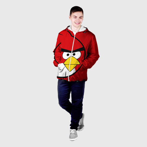 Мужская куртка 3D  Фото 03, Птичка