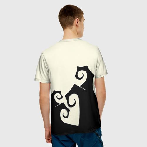 Мужская футболка 3D Герой