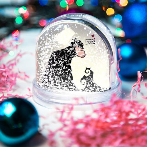 Водяной шар со снегом  Фото 04, Герой