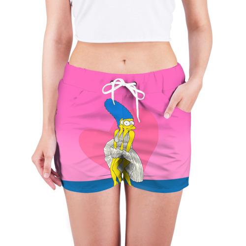 Женские шорты 3D Мардж Фото 01
