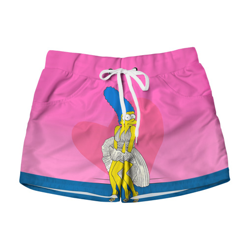 Женские шорты 3D Мардж